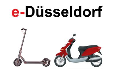 e-scooter mieten in Düsseldorf