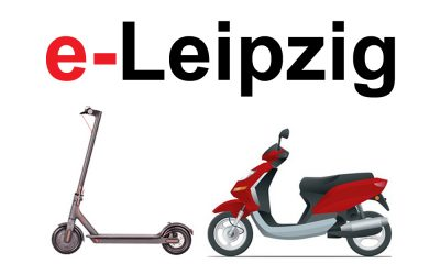 E-Scooter mieten in Leipzig