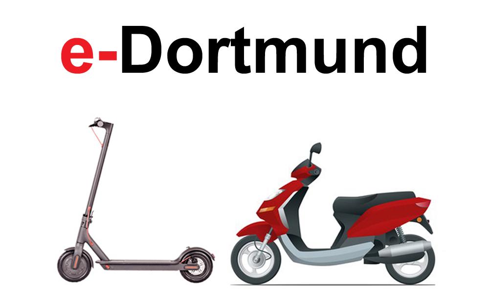e-scooter mieten in Dortmund