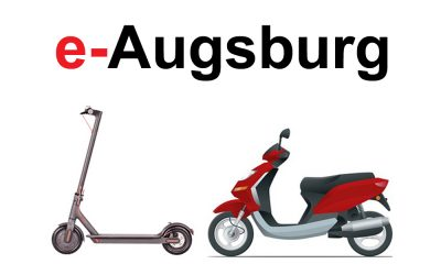 e-Scooter mieten in Augsburg