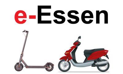 e-scooter mieten in Essen