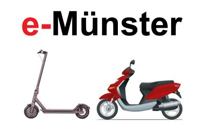 e-scooter mieten in Münster