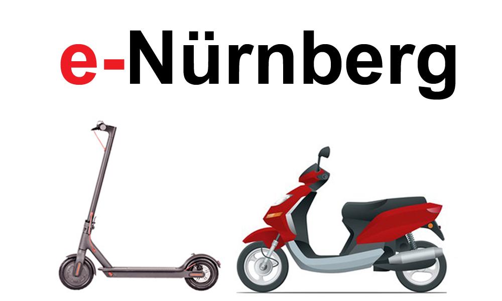 e-scooter mieten in Nürnberg