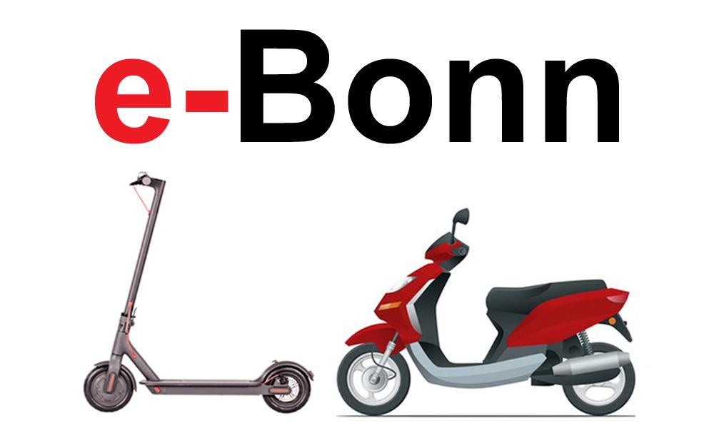 e-scooter mieten in bonn