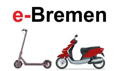 e-Scooter mieten in Bremen