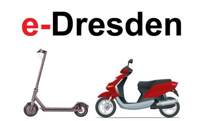 e-Scooter mieten in Dresden